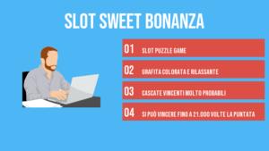 Caratteristiche della slot Sweet Bonanza